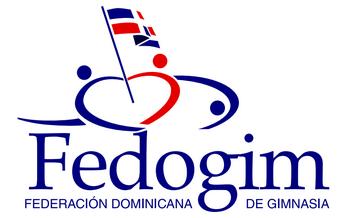 logo Federación Dominicana de Gimnasia